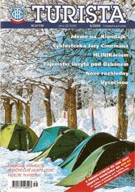Titulní obálka časopisu Turista 6/2006